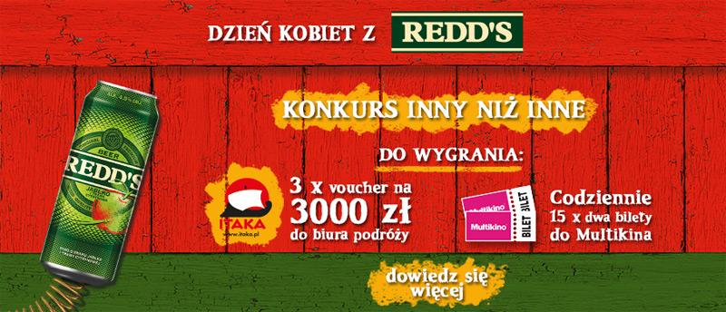 Konkurs Redd's w sklepach Żabka i Freshmarket
