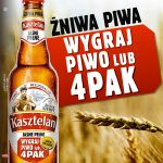 Loteria Kasztelan Żniwa Piwa – wygraj piwo lub czteropak