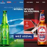 Loteria Heineken i Warka w MILA