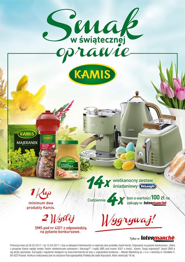 Konkurs Kamis w Intermarche – smak w świątecznej oprawie