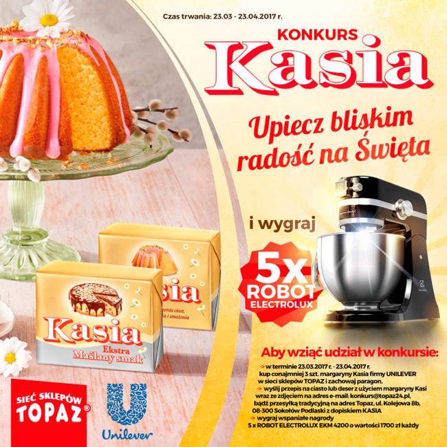 Wielkanocny konkurs Kasia w Topaz
