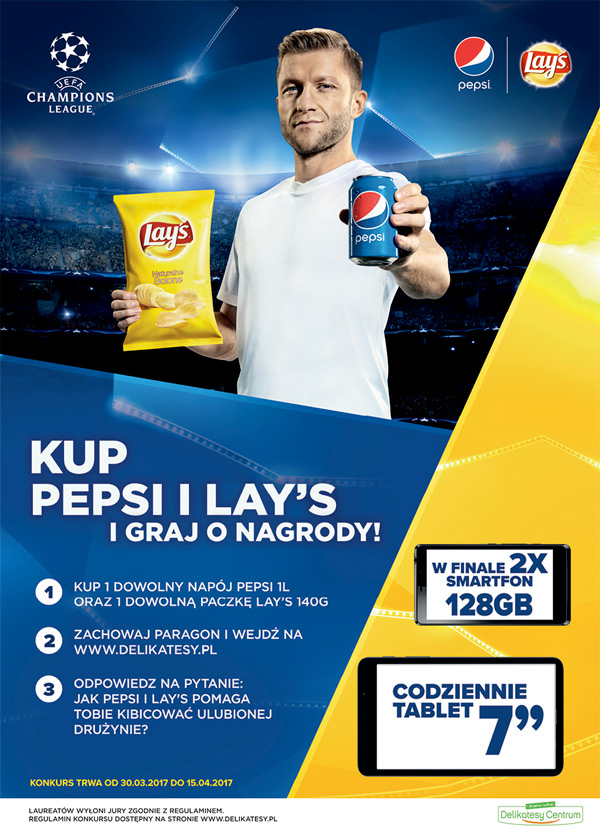 Konkurs Lay's i Pepsi w Delikatesach Centrum