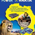 Loteria Rodzinne Safari w Namibii z VARTA