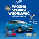 Wiosenna Loteria Wedel – Ford Fiesta do wygrania