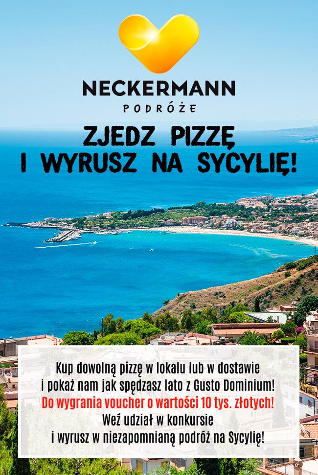 Wygraj wycieczkę na Sycylię – konkurs Gusto Dominium