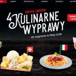 Kulinarne Wyprawy – loteria Orlen Stop Cafe