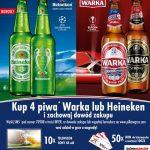Loteria Heineken i Warka w Intermarche – piłka w grze