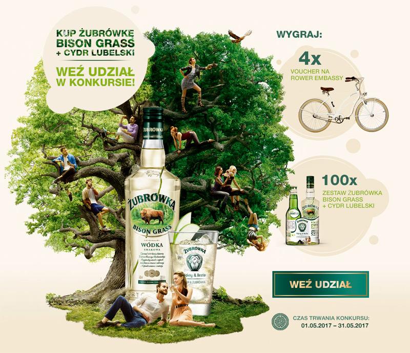 Konkurs Żubrówka + Cydr Lubelski w Tesco – połącz dwie natury