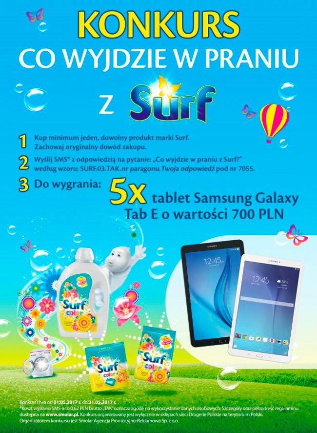 Konkurs Surf w sieci Drogerie Polskie