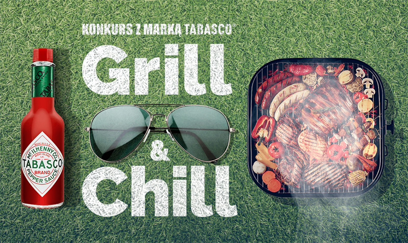 Konkurs Tabasco Grill&Chill