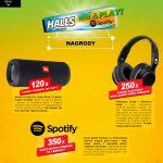 Loteria Halls – graj o muzyczne nagrody