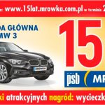 Loteria 15 lat PSB Mrówka – wygraj BMW i3