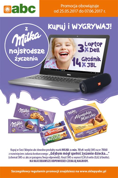 Konkurs Milka w ABC – najsłodsze życzenia