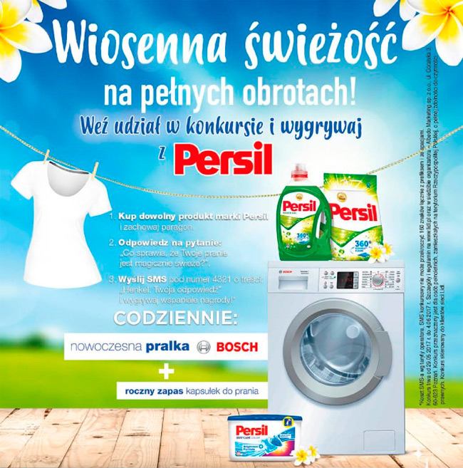 Konkurs Persil w Lidl