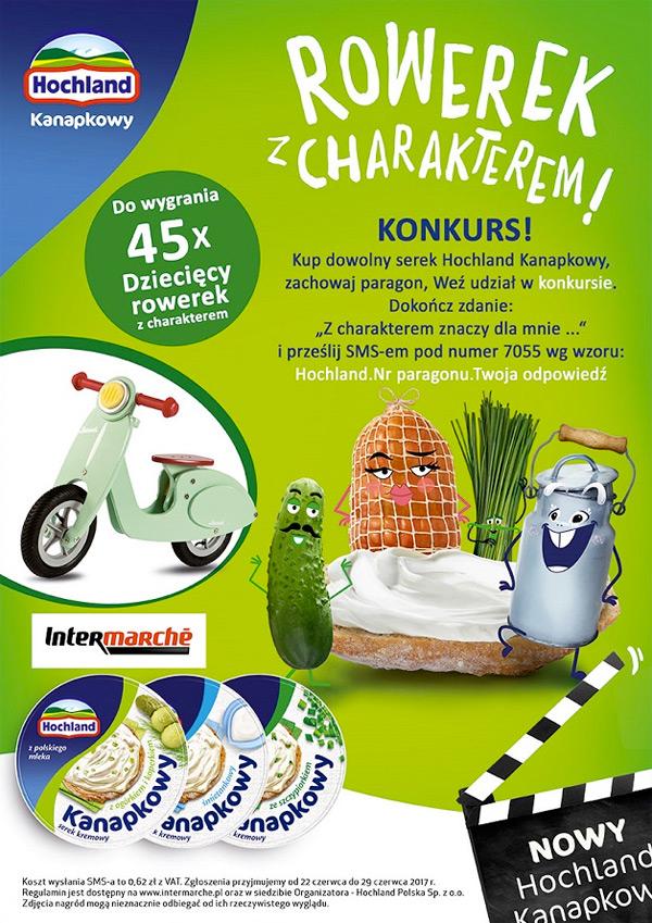 Konkurs Hochland Kanapkowy w Intermarche