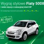 Wakacyjna loteria BP – wygraj Fiata 500X
