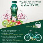 Konkurs Activia w Carrefour – wyjdź na rower z Activią