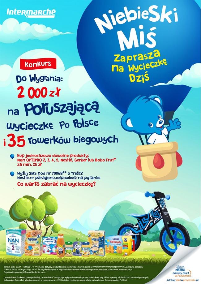 Konkurs Nestle Niebieski Miś w Intermarche