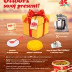 Loteria Otwórz się na prezent w Carrefour
