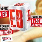 Konkurs Tymczasem EB w Tesco