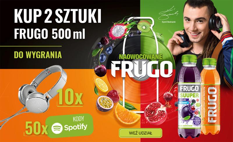Konkurs Naowocowane Frugo w Tesco