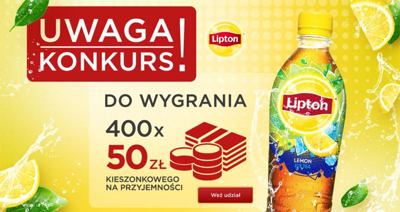 Konkurs Lipton Ice Tea w sklepach Żabka i Freshmarket