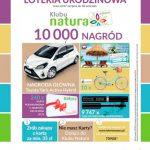 Loteria urodzinowa Drogerie Natura: 20 pięknych lat razem