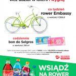 Loteria Coca-Cola w Selgros wsiądź na rower