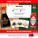 Konkurs TABASCO i Kikkoman – Twój styl. Twój smak