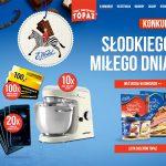 Konkurs Wedel w sklepach Topaz