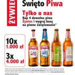 Loteria Żywiec Święto Piwa w sklepach Żabka
