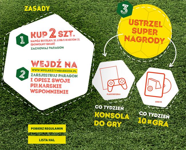 Konkurs W piłkę z Tymbarkiem w Carrefour