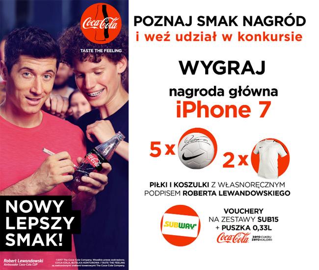 b2e498965 Konkurs Coca-Cola Zero Cukru w SUBWAY | Zgarniajto.pl