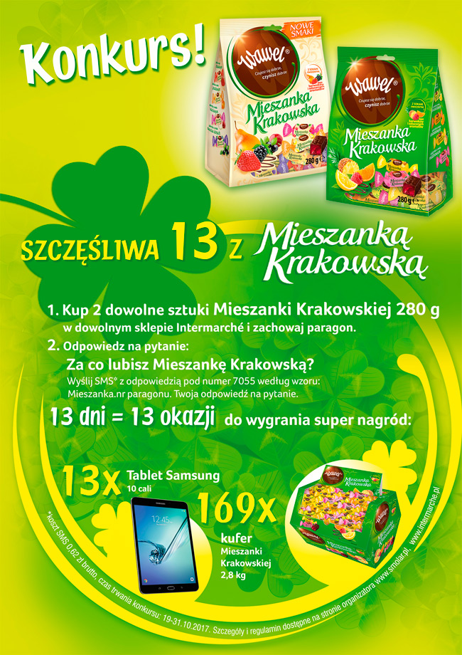 Konkurs Mieszanka Krakowska w Intermarche