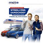 Loteria MOYA – wygraj dwa samochody lub paliwo