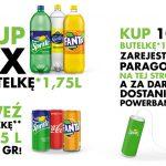Promocja Sprite, Fanta, Kinley w Biedronka – powerbank gratis