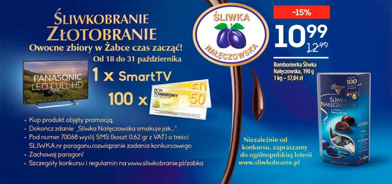 Konkurs Śliwka Nałęczowska w sklepach Żabka i Freshmarket