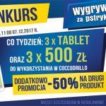 Konkurs Coccodrillo – wygrywanie za pstrykanie