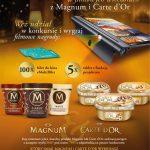 Konkurs Magnum i Carte d'Or w Biedronce
