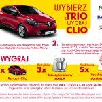 Loteria Wybierz z Trio – wygraj Clio