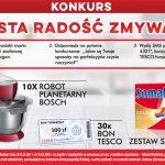 Konkurs Czysta radość zmywania w Tesco