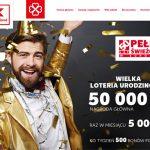 Loteria urodzinowa 50 lat Kaufland