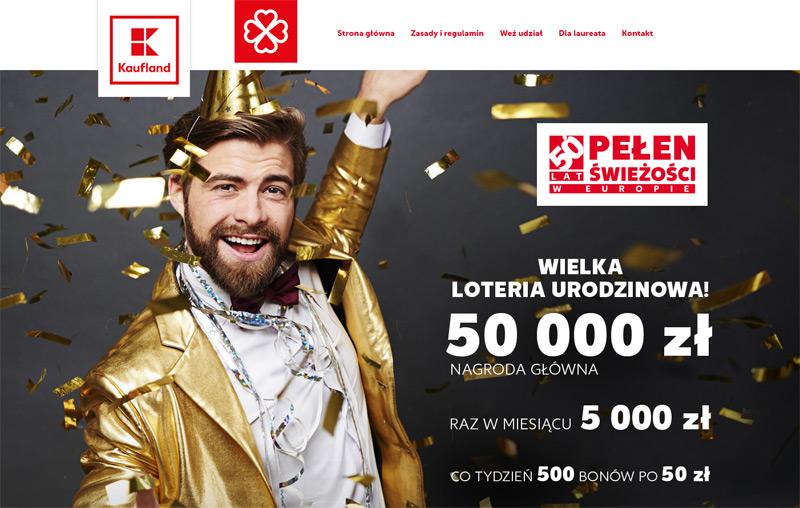 Loteria Urodzinowa 50 Lat Kaufland Zgarniajto Pl