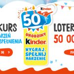 Konkurs i loteria na 50 urodziny Kinder