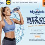 Promocja Nałęczowianka w Lidl: weź łyk motywacji