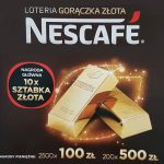 Loteria Gorączka Złota Nescafe