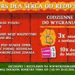 Walentynkowy konkurs Redd's w Żabce i Freshmarket