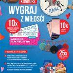 Walentynkowy konkurs Wedel w Intermarche