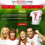 Loteria rodzinne kibicowanie z Nutella – wygraj koszulki