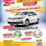 Loteria urodzinowa Topaz na 25 lat